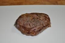 Resting steak