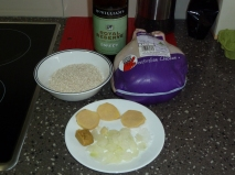 The ingredients need for jook