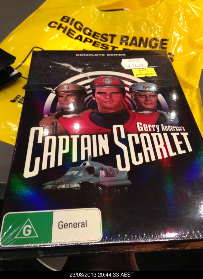 Captain Scarlet DVD