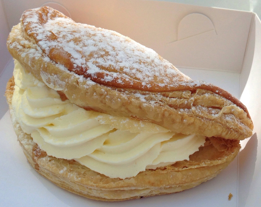 Turnover Apple Cake