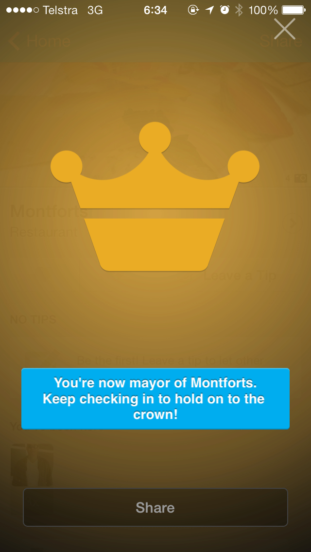 Montfort's mayorship