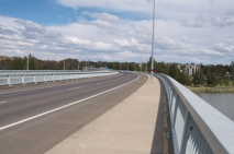 A bridge across the lake