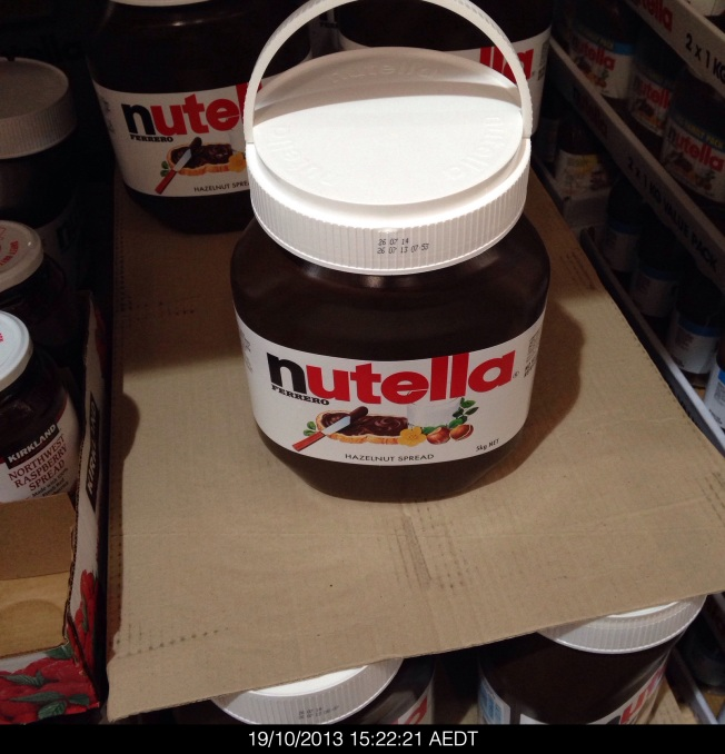 5 kg of Nutella