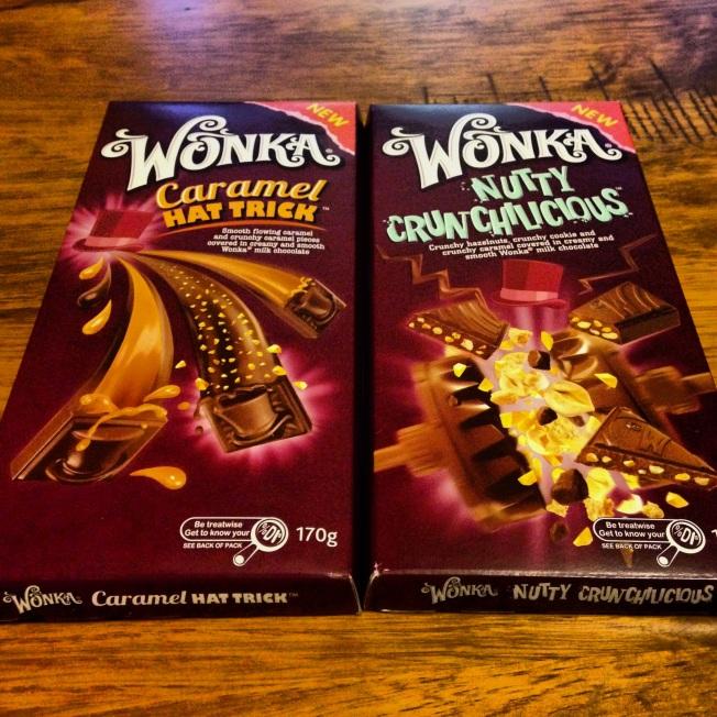 Wonka chocolate