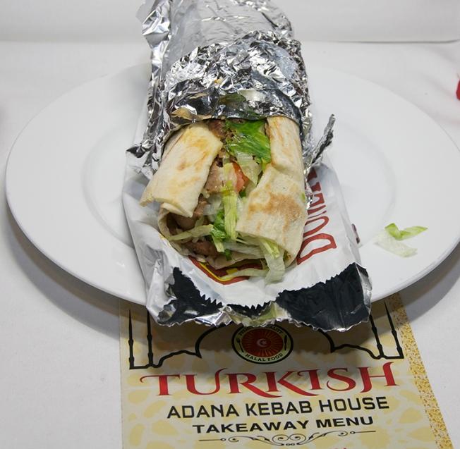 Lamb Doner Kebab Roll