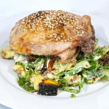 Sunday2014-01-12 18.08.19AEDTChicken and salad