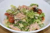 Wednesday2014-01-22 18.17.39AEDT Warm salmon salad