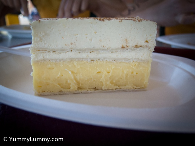 Yatala Pies French vanilla slice