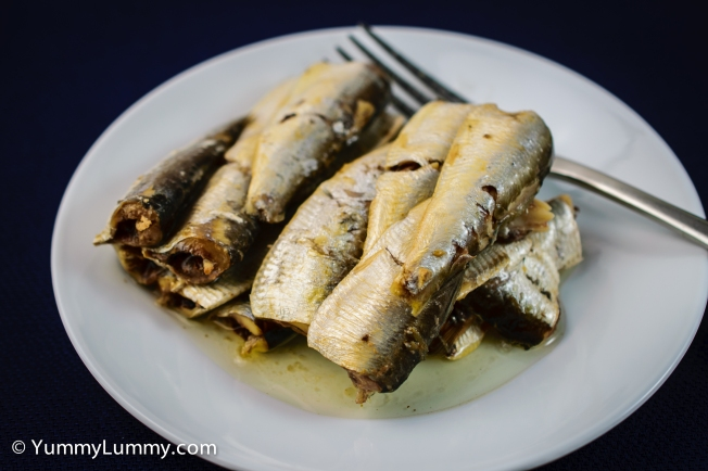 Sardines for #lunch today :-)