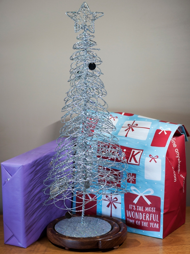 Sunday 2013-12-01 14.21.53 AEDT. My Christmas tree is taking shape with gifts and everything 😃