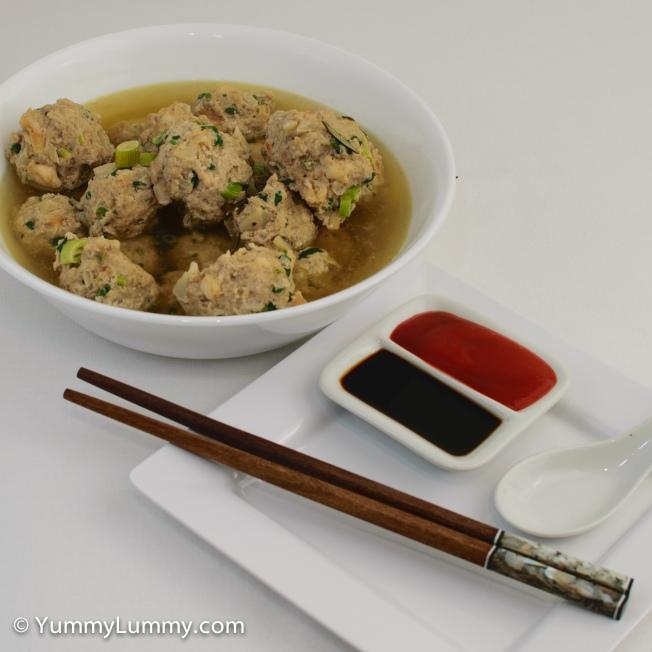 Nude wonton soup
